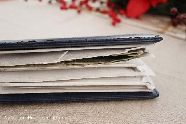 More torn paper envelopes in dave ramsey system
