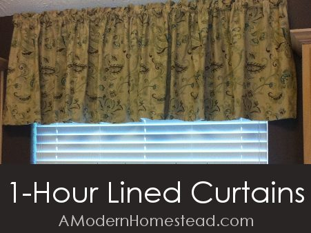 Quick and Easy Line Curtain Tutorial - Slider Promo
