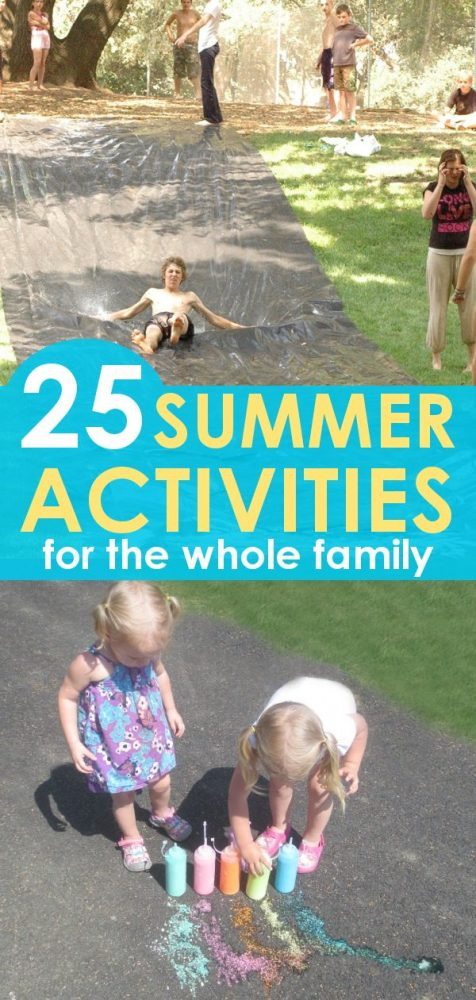 25 Summer Activities for the Whole Family