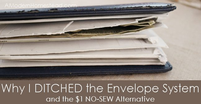 No-Sew Alternative to the Dave Ramsey Envelope System - FB Promo