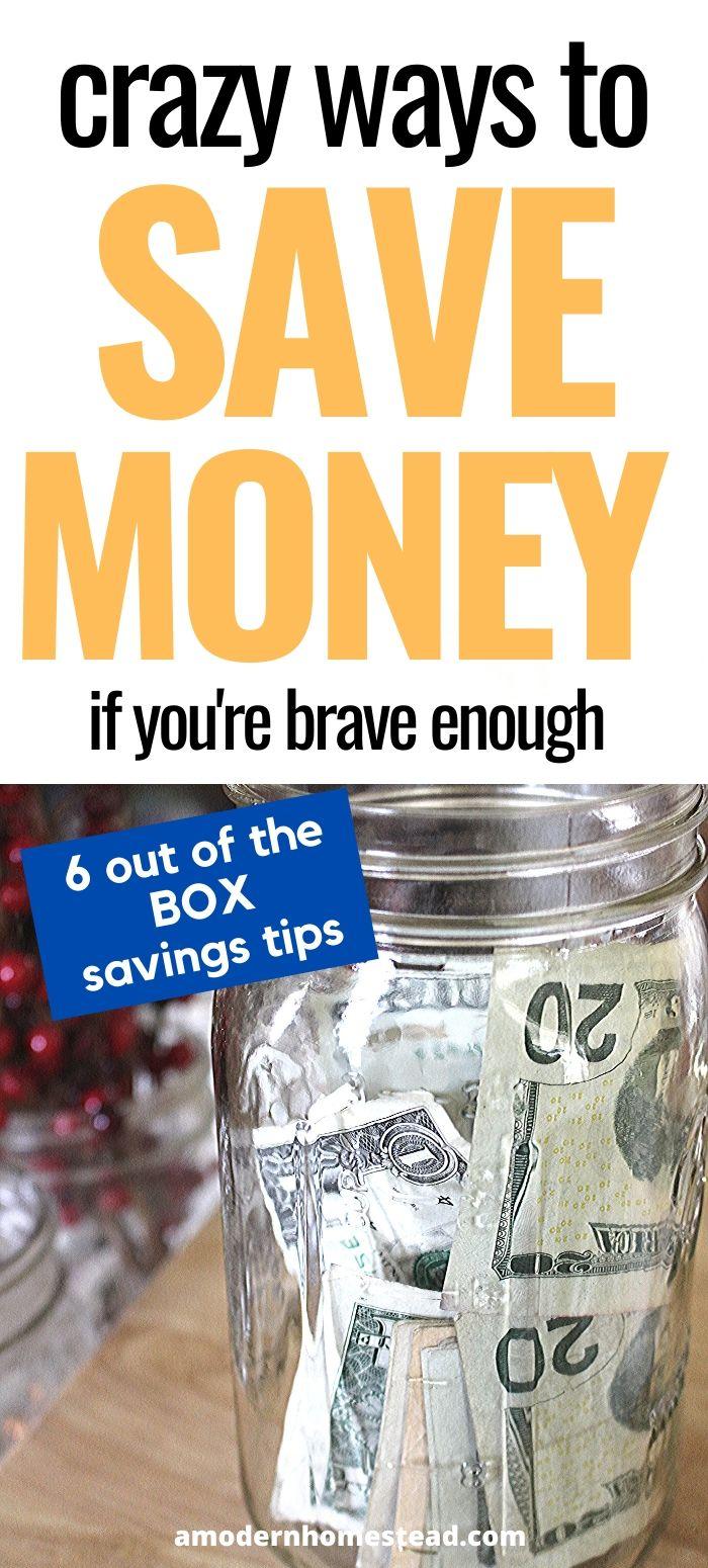 Money in a mason jar money saving tips promo image