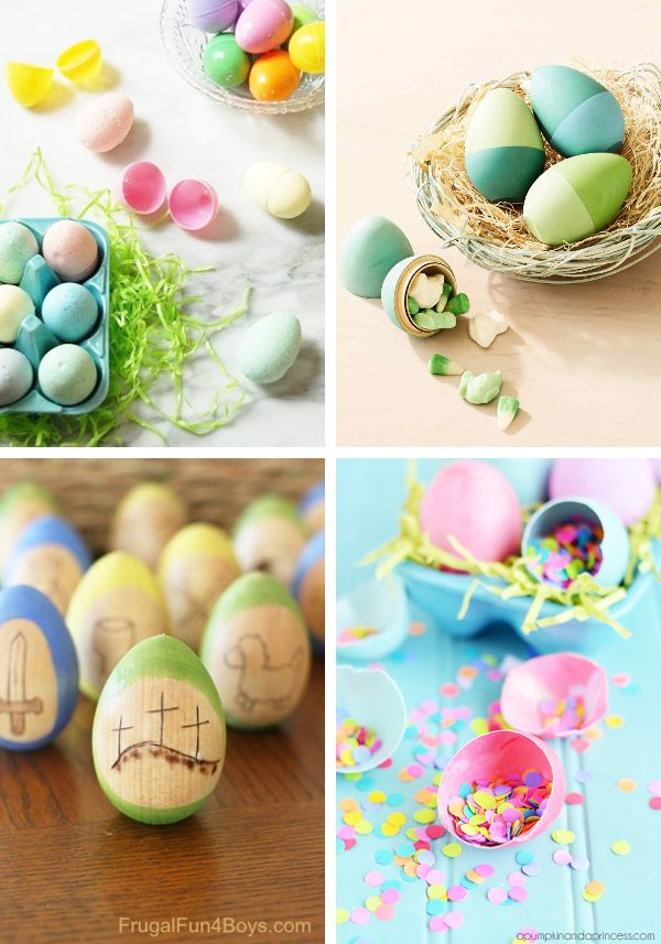 4 different easter egg ideas