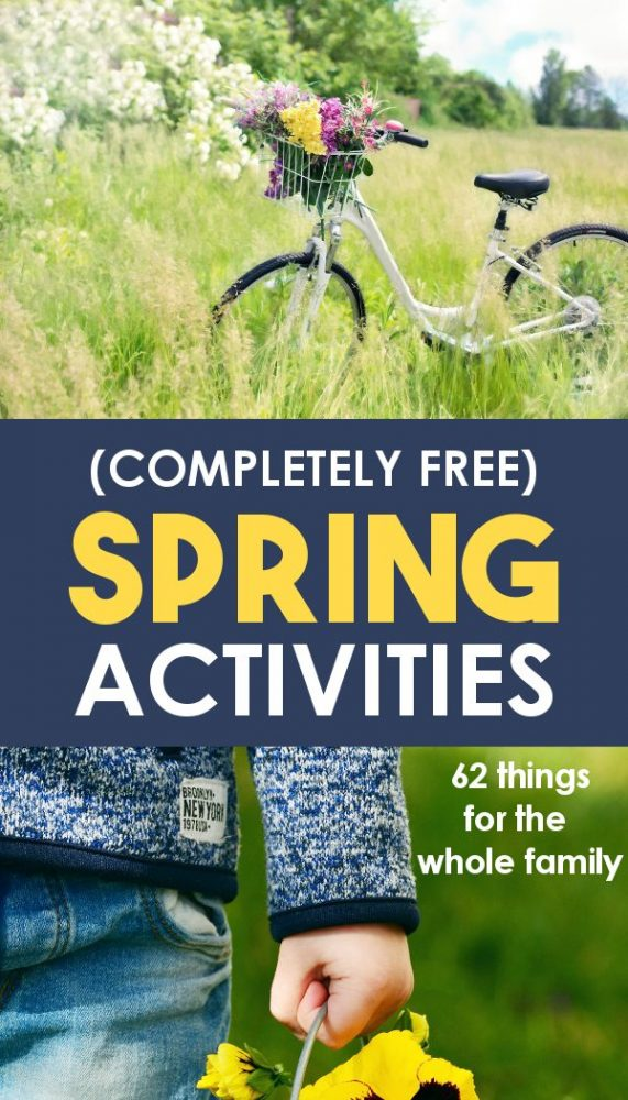 promo image for spring activities for families