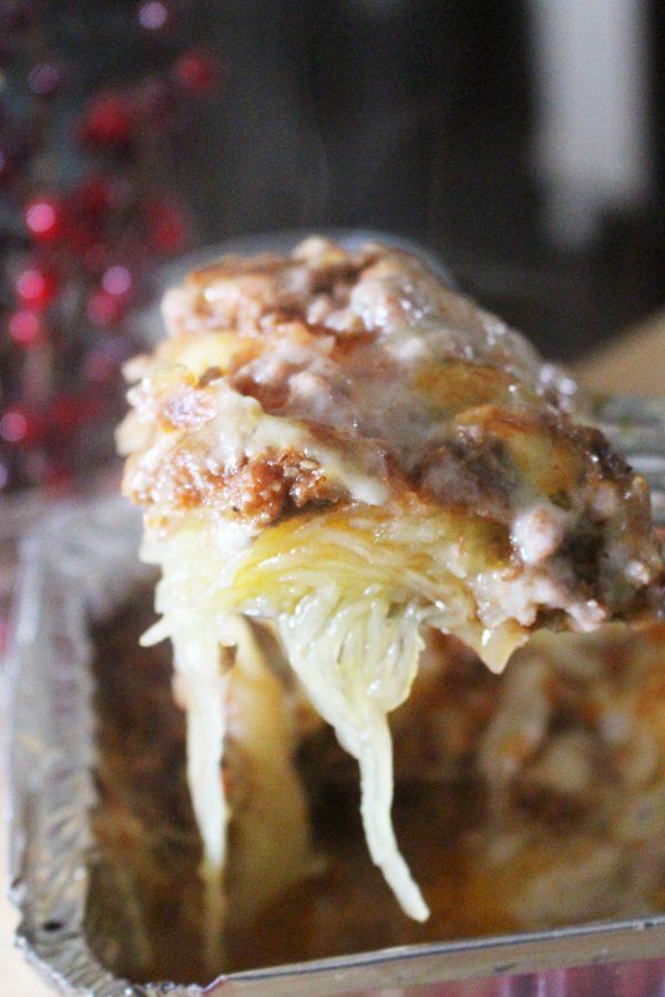 oven baked frozen spaghetti squash casserole
