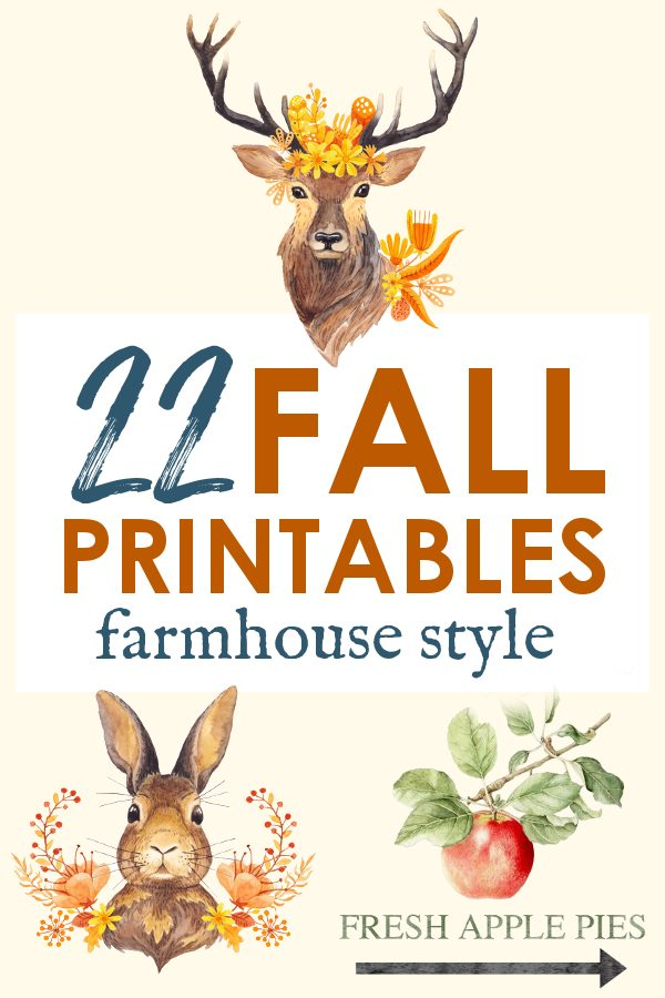 Fall Decor Farmhouse Style Artwork
