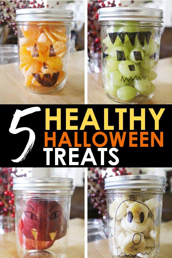 5 Easy healthy halloween treats