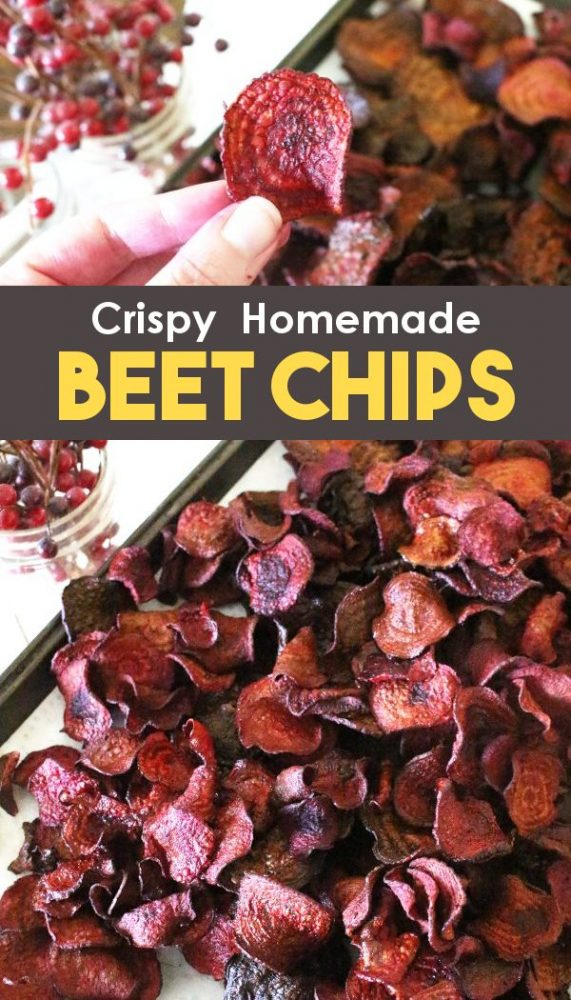 how to make homemade beet chips