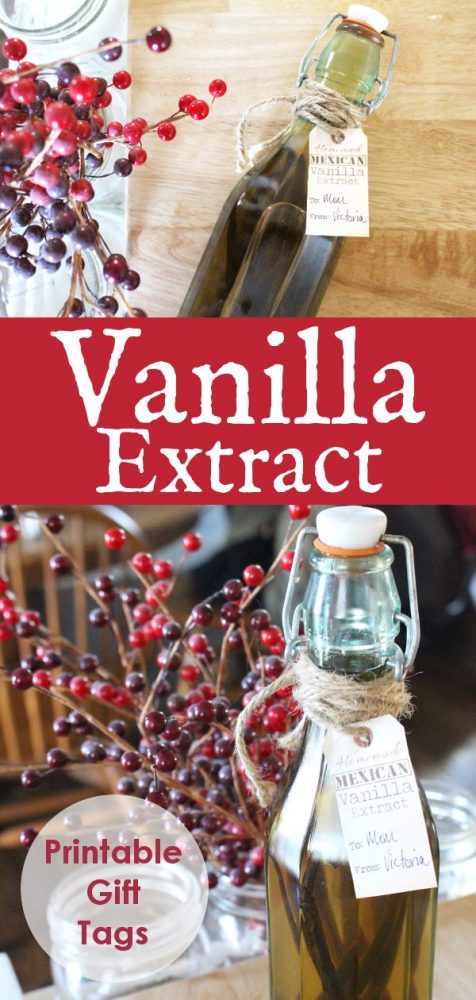 DIY vanilla extract recipe
