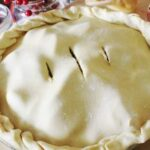 homemade pie crust recipe made with einkorn flour