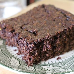 Squash flour, gluten free GAPS and Paleo chocolate cake