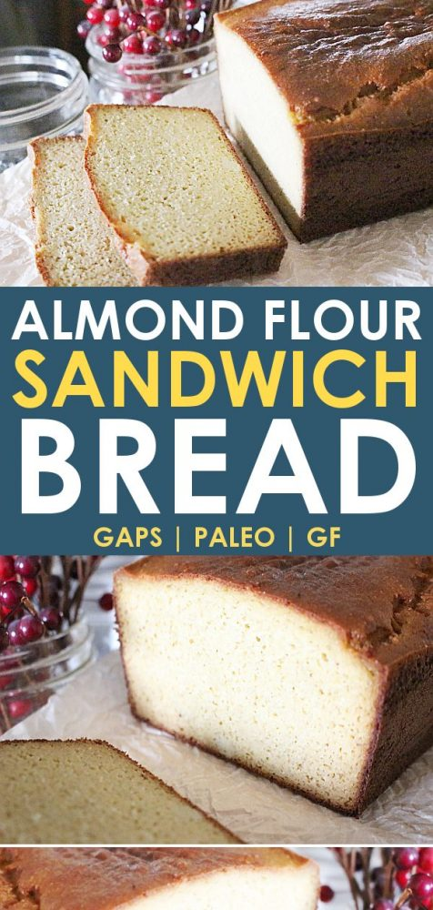 paleo bread almond flour bread