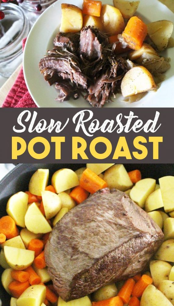 Pot roast in oven recipe