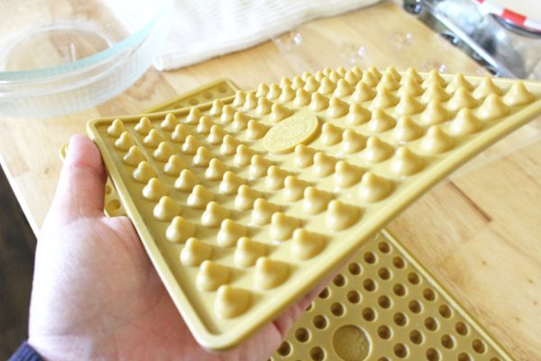 Silicone chocolate chips mold
