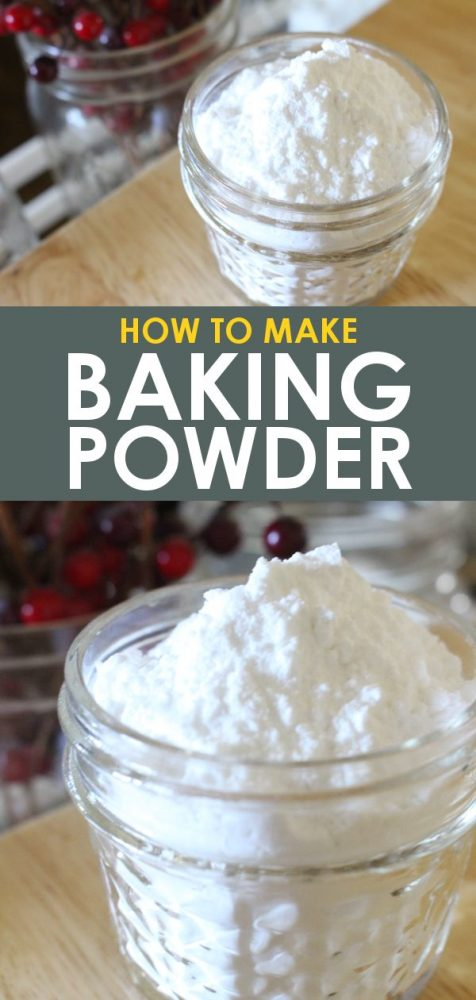 Store bought baking powder substitute