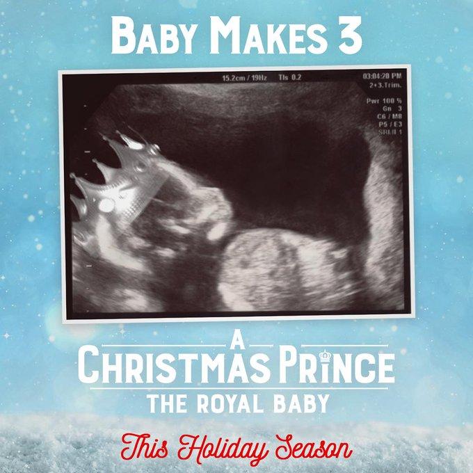 A Christmas Prince The Royal Baby Poster