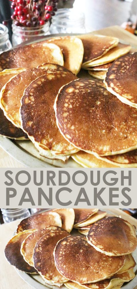einkorn sourdough pancakes recipe