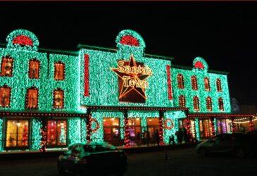 Santa's Wonderland Texas Christmas Experience Front