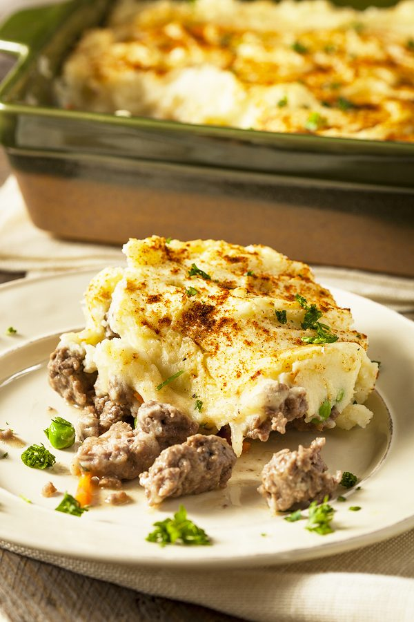 Homemade easy shepherd's pie recipe, whole 30 and gluten free