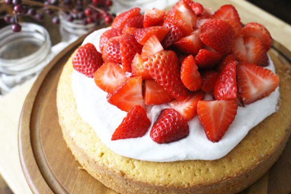 Groovy The Ultimate Strawberry Shortcake Recipe For Einkorn Or Any Wheat Personalised Birthday Cards Veneteletsinfo