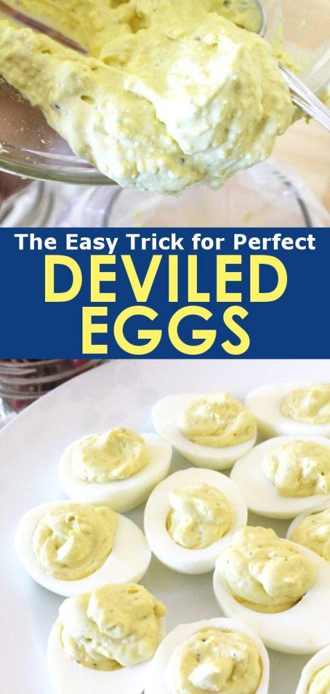 easy classic deviled eggs recipe