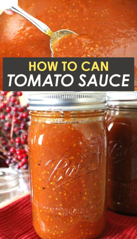 homemade roasted tomato sauce in mason jar on the counter