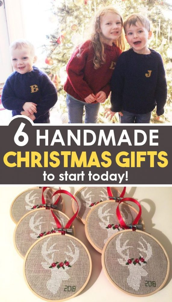 6 DIY Christmas gifts to start today