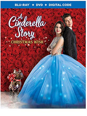 a cinderella story christmas wish movie poster