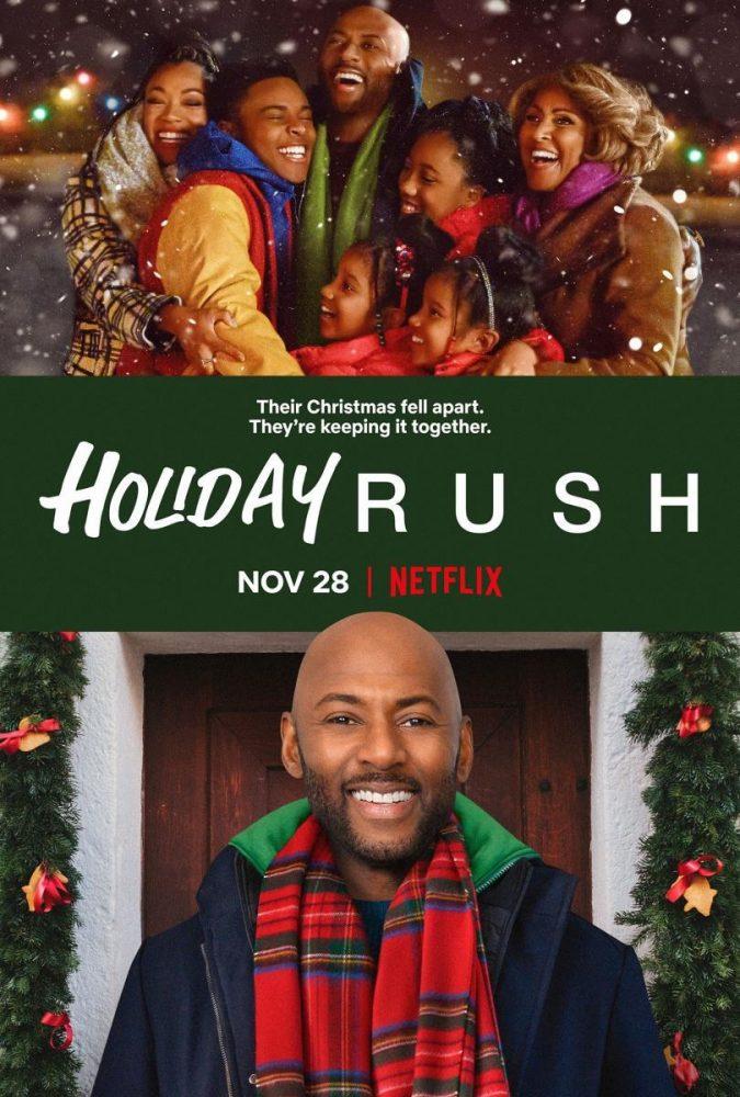 Holiday Rush netflix original movie poster