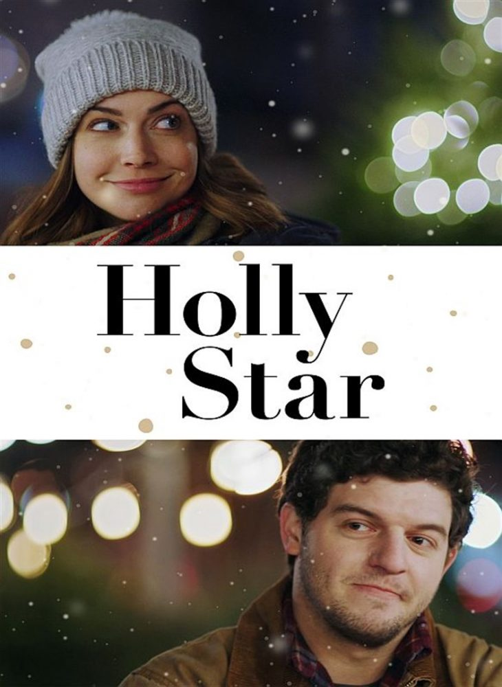 holly star christmas movie poster