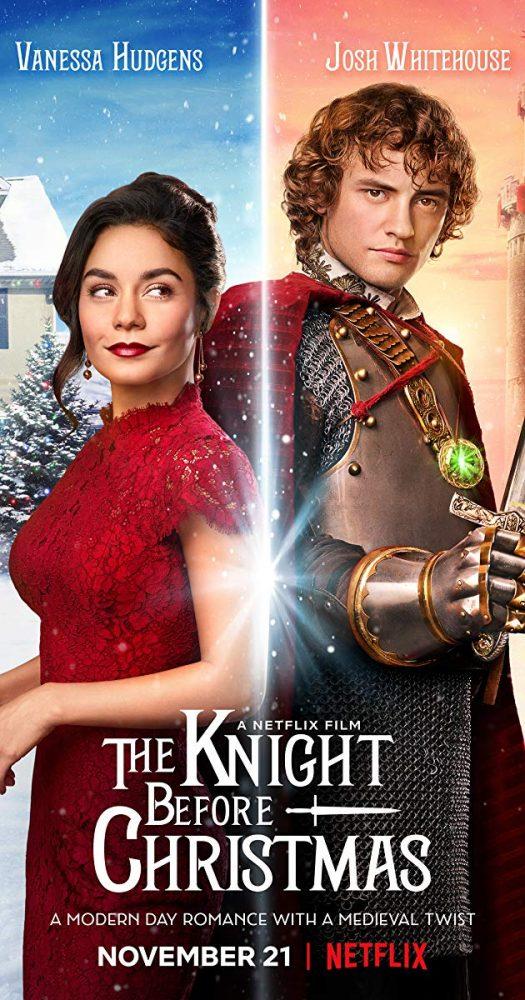 The knight before Christmas Netflix original christmas movie poster