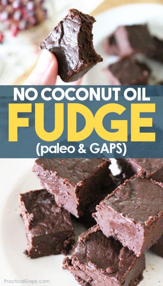 easy homemade paleo chocolate fudge
