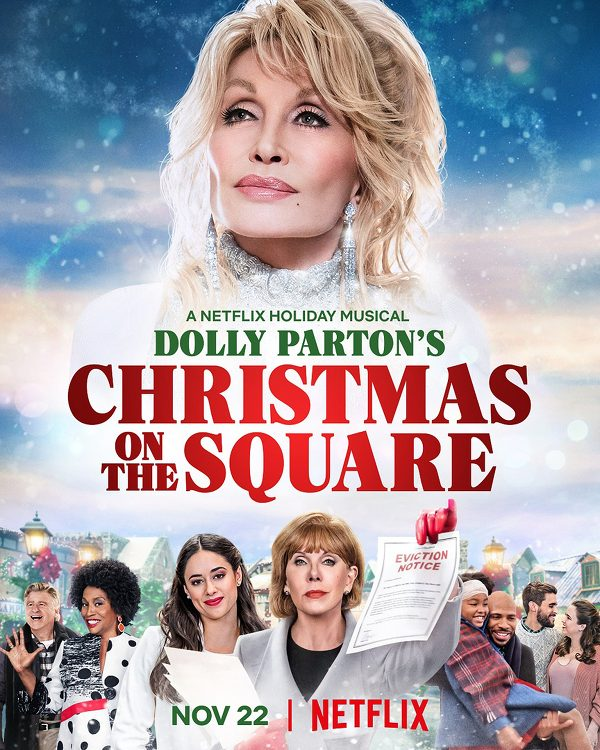Christmas on the Square netflix original christmas movie poster