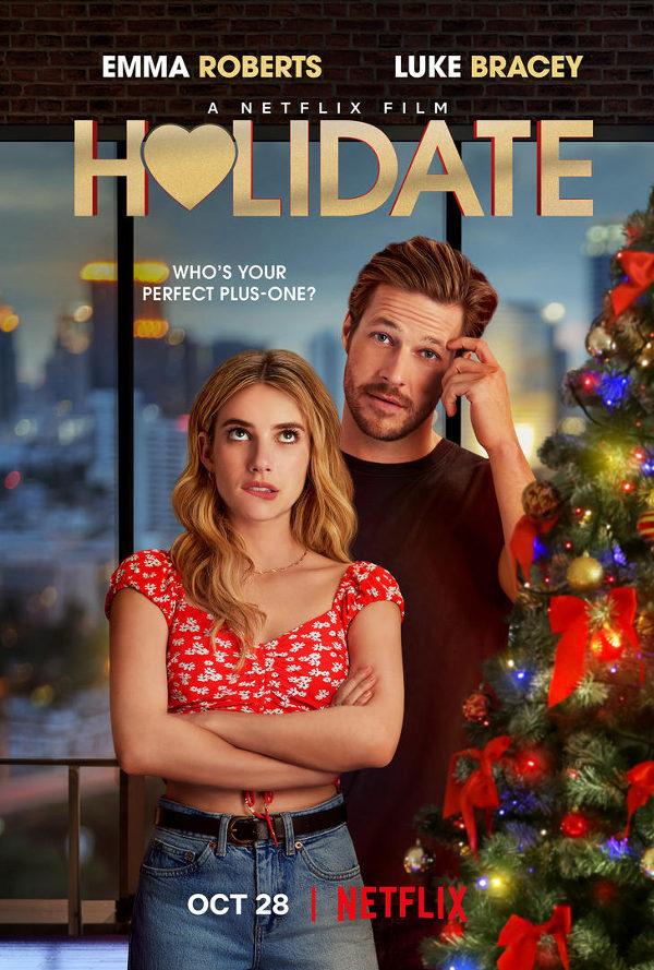 holidate netflix original christmas movie poster