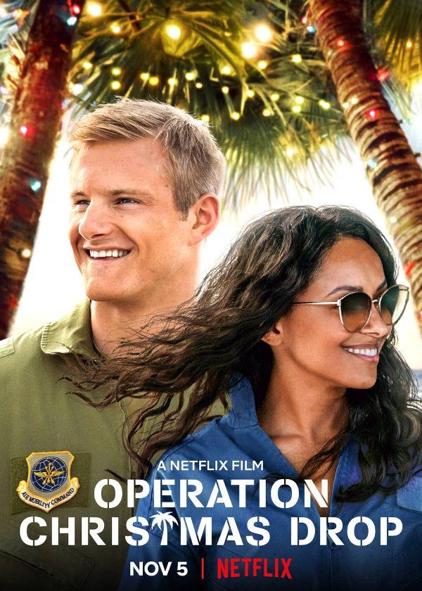 Operation christmas drop netflix original christmas movie poster