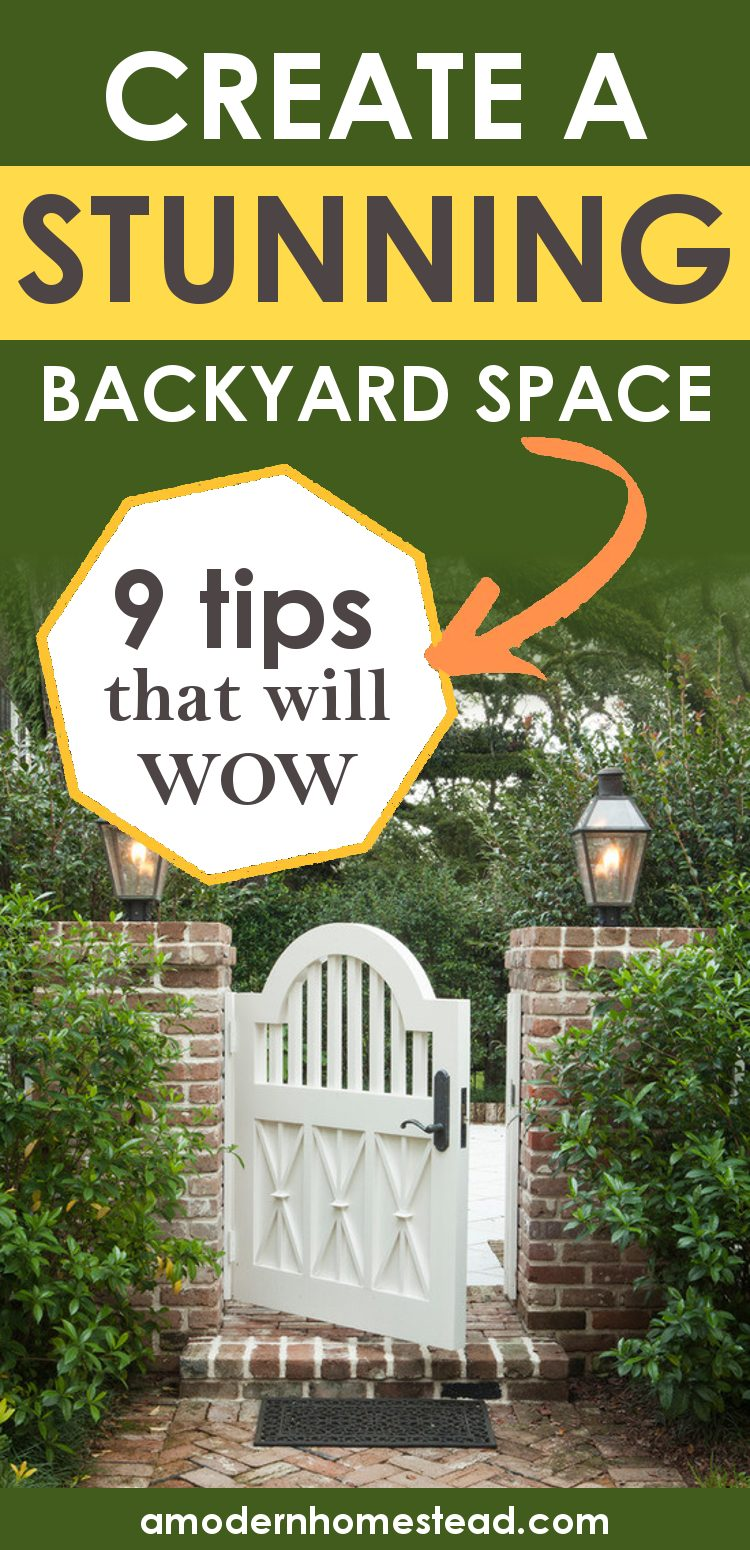 backyard landscaping ideas promo image