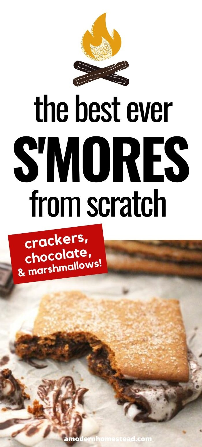 how to make smores homemade pin