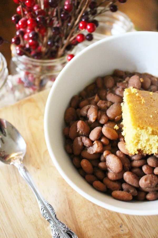 homemade southern pinto beans