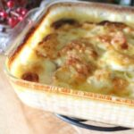 homemade potatoes au gratin recipe in pan