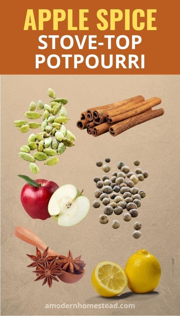 Apple Spice stove-top potpourri recipe