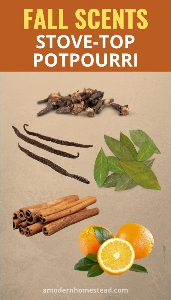 Fall scents stove top potpourri recipe