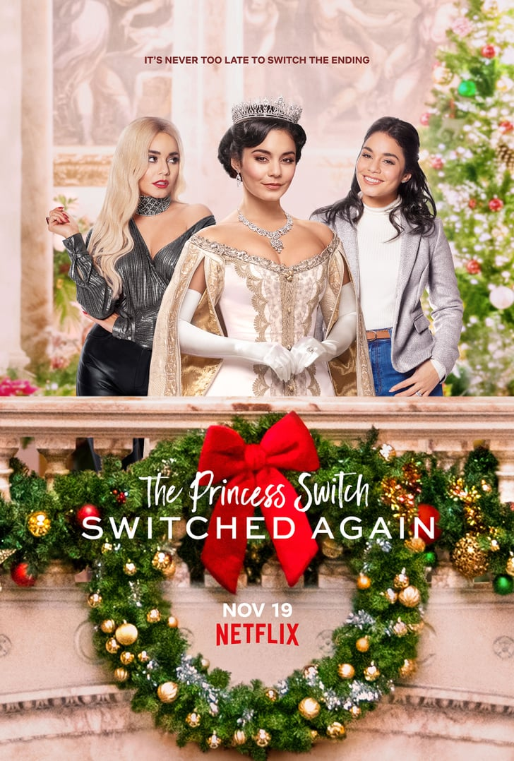 The Princess Switch: switched again netflix original christmas movie poster