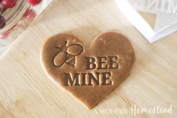 Bee Mine Cookie Cutter/Cookie Stamp