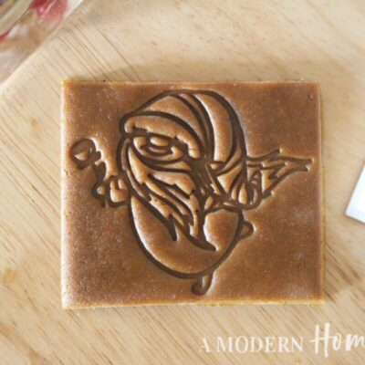 Gnome With Rose Cookie Cutter/Cookie Stamp