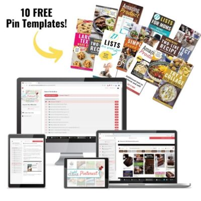 Crystal Clear Pinterest blogging course