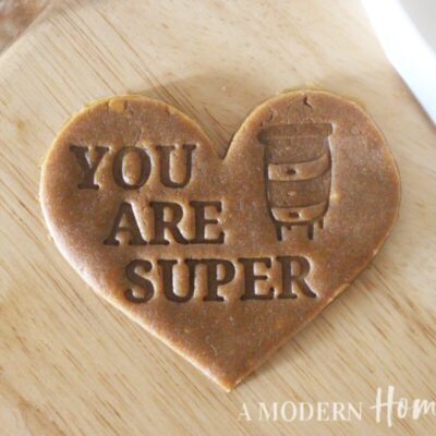 You Are Super Cookie Cutter/Cookie Stamp