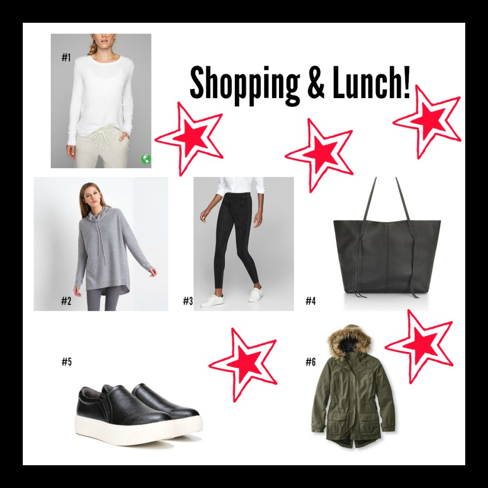 Holiday Dressing Shopping and Lunch
