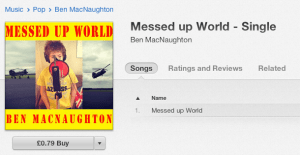 Buy the single #BenUKXmasNo1 #MessedUpWorld