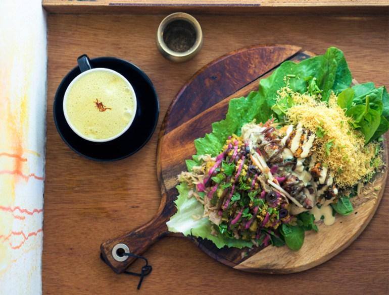 Nalini's Wholesome Street Food, probiotic food, Indian Street Food, turmeric latte, Ayurvedic
