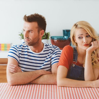 is it love or infatuation, argument between couple