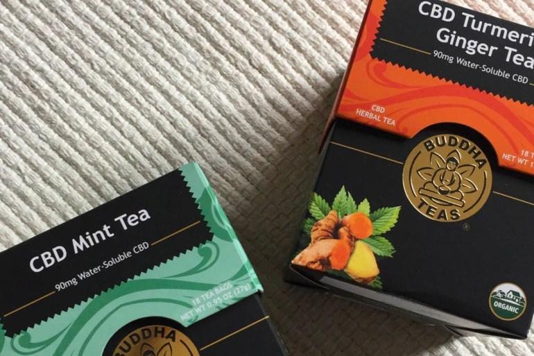 CBD oil tea